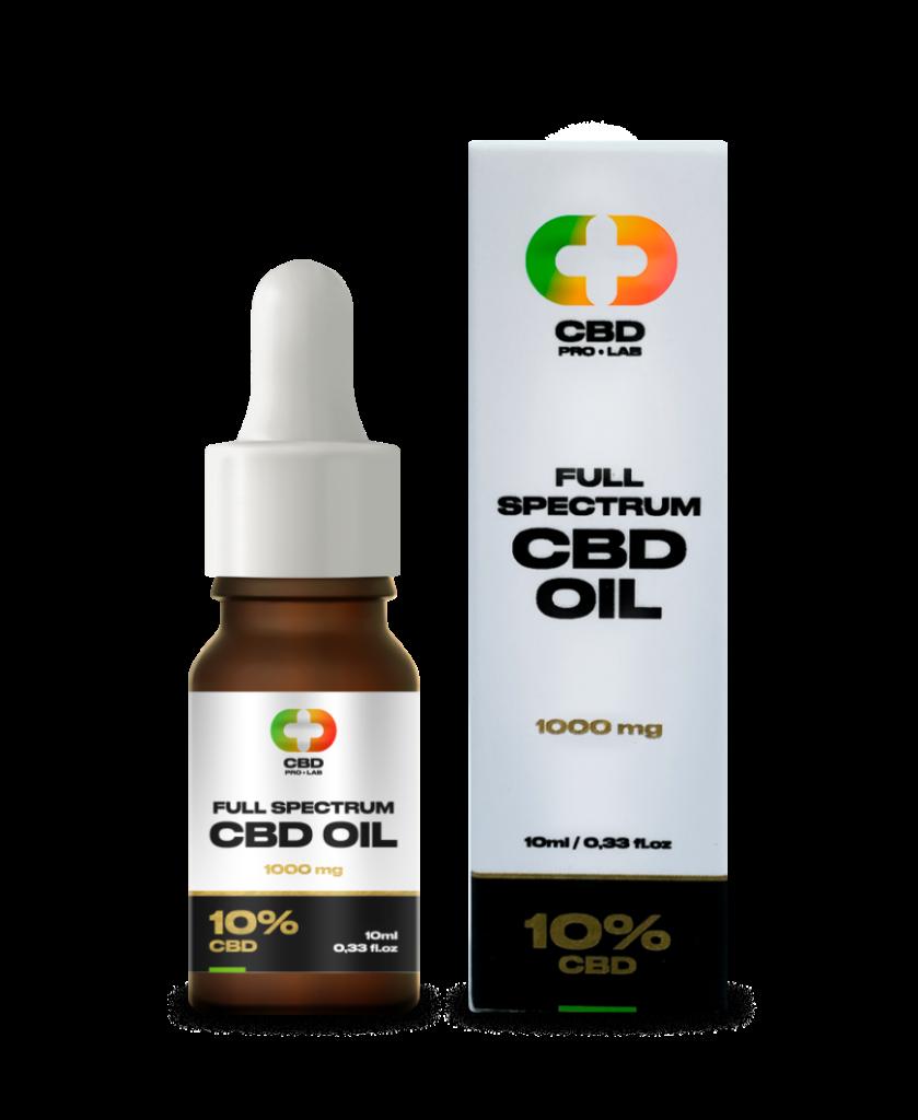 CBD Oil Full Spectrum 10% (1000mg) 10ml