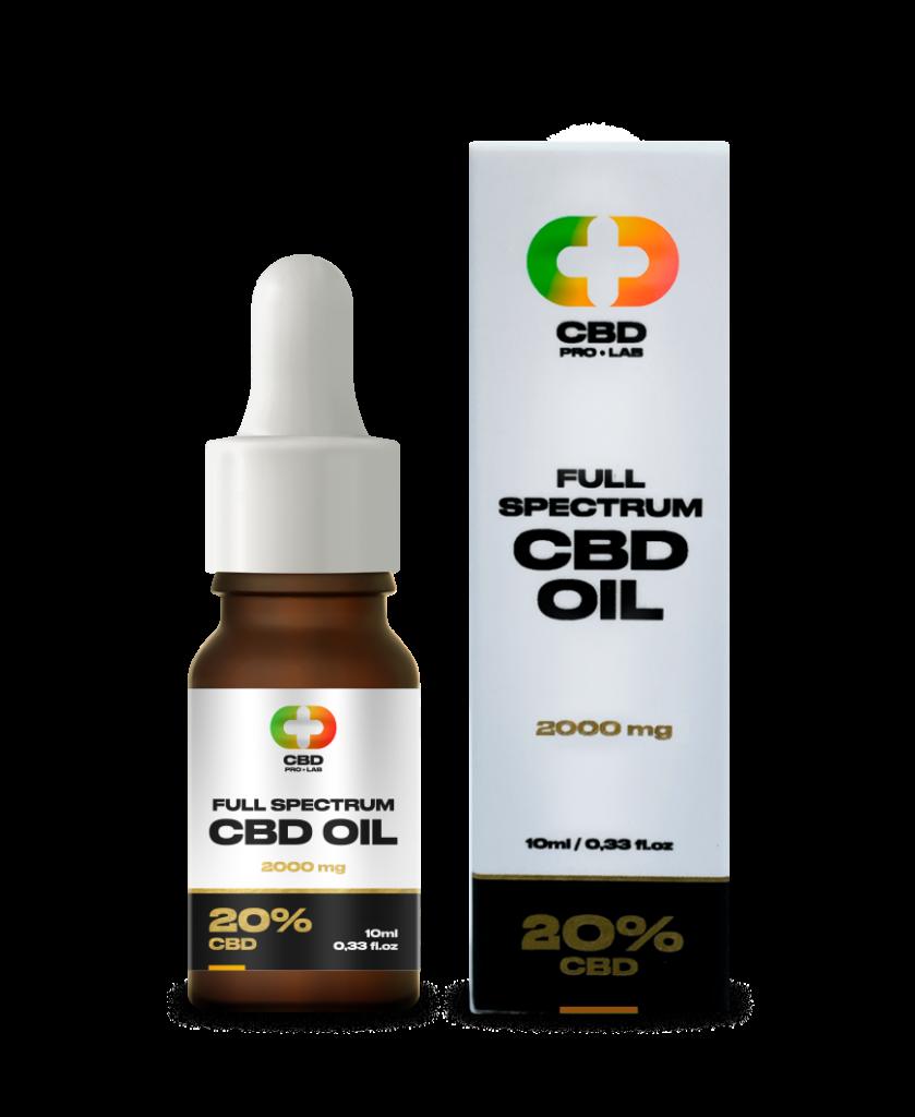 CBD Oil Full Spectrum 20% (2000mg) 10ml