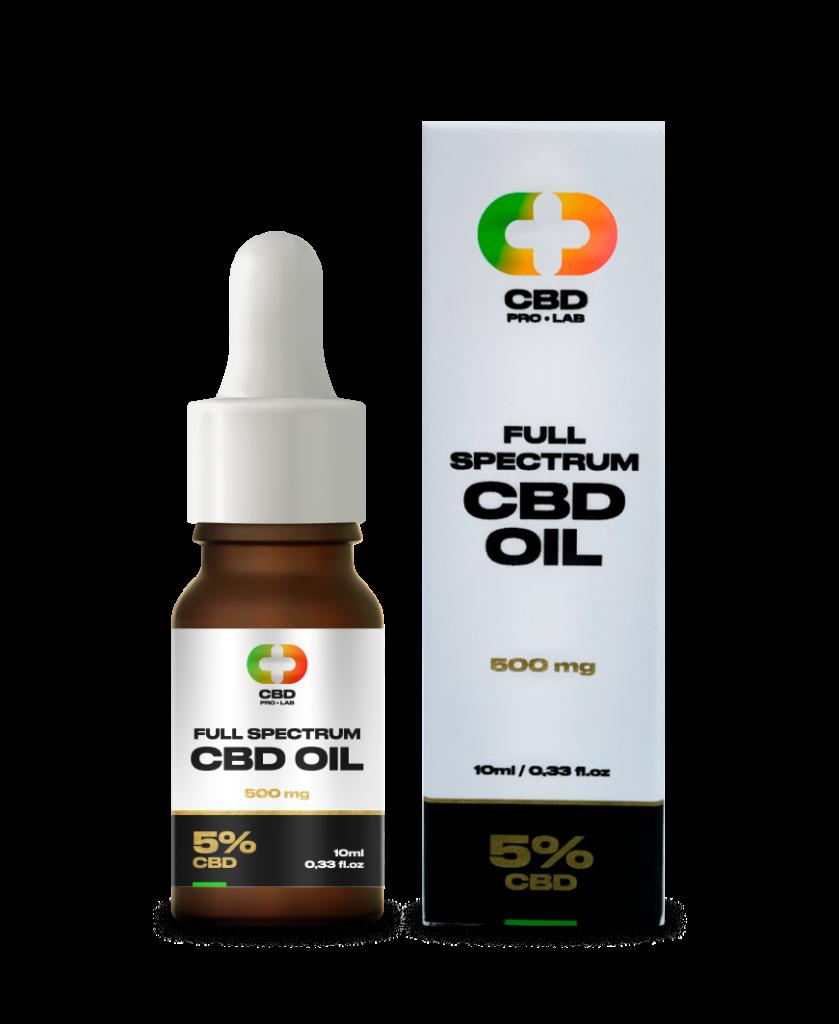 CBD Oil Full Spectrum 5% (500mg) 10ml