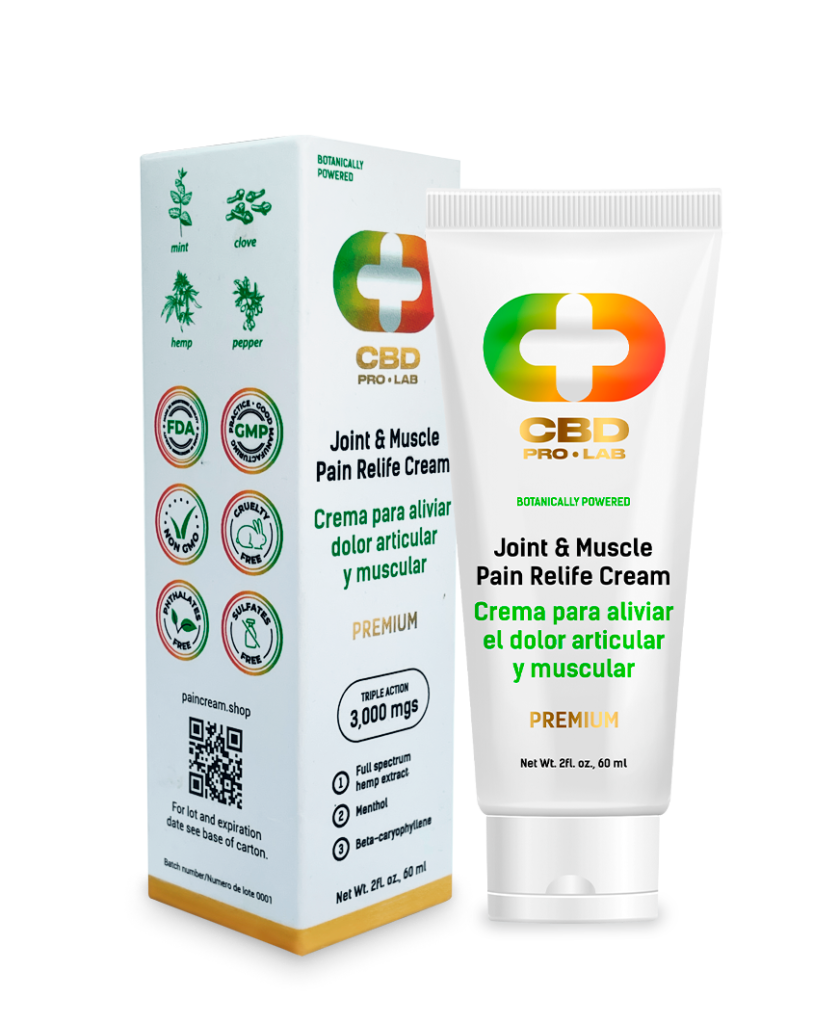 Joint and Muscle Pain Relife Cream 60ml